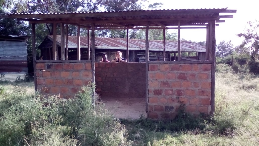 Figure 16: compost shed