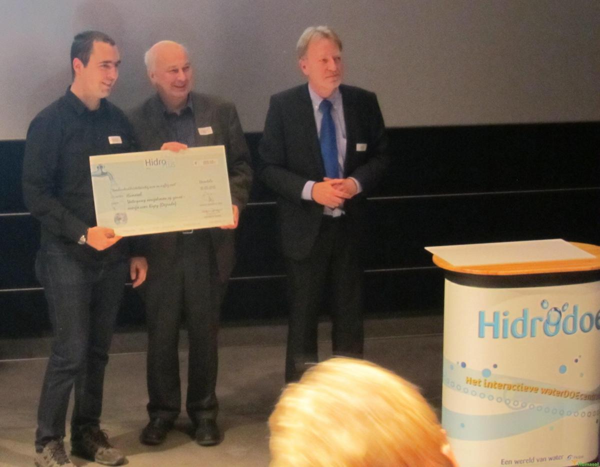 Winnaar van de HidroPlus prijs