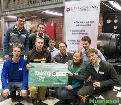Laureaat Leuven.inc prijs 2012 Traject sociaal Ondernemerschap