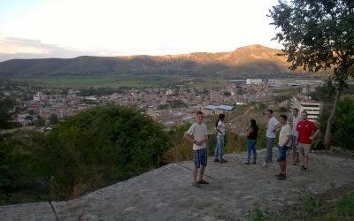 Aankomst in Jaén