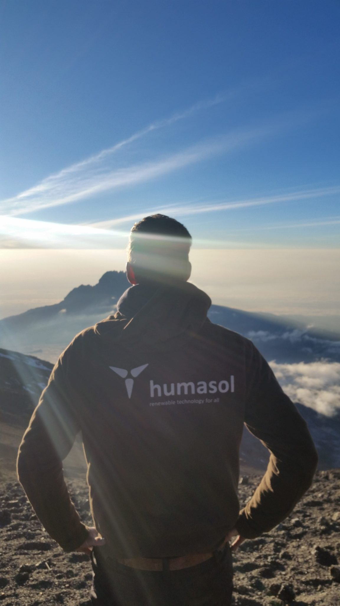 Humasol on top of the world!!!