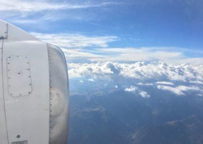vlucht naar Huanuco
