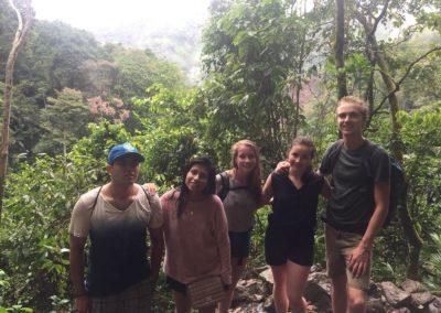 Peruviaanse amigos in Tingo Maria