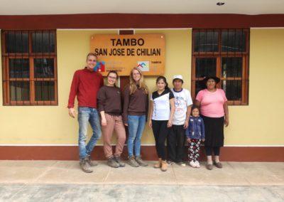 Afscheid van Victor in de Tambo