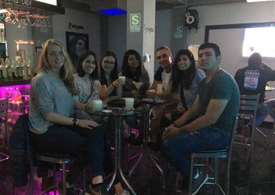 Beste vrienden in Peru
